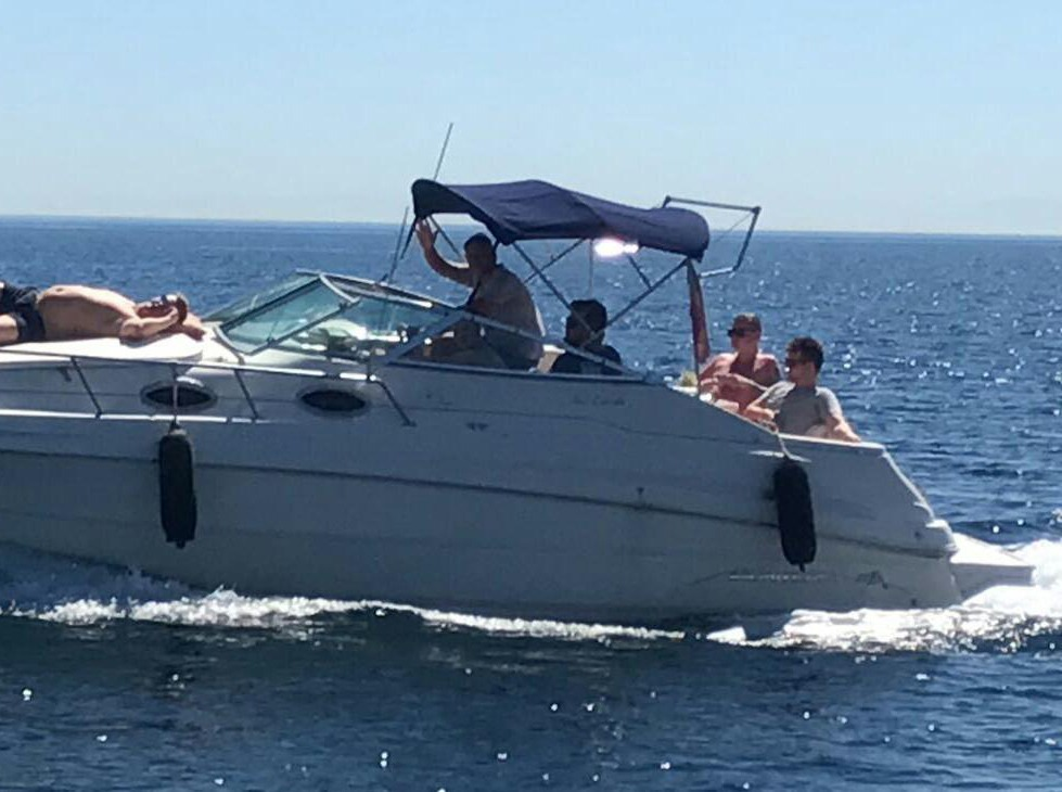 boat lovitcharter MONTEREY 262 CRUISER