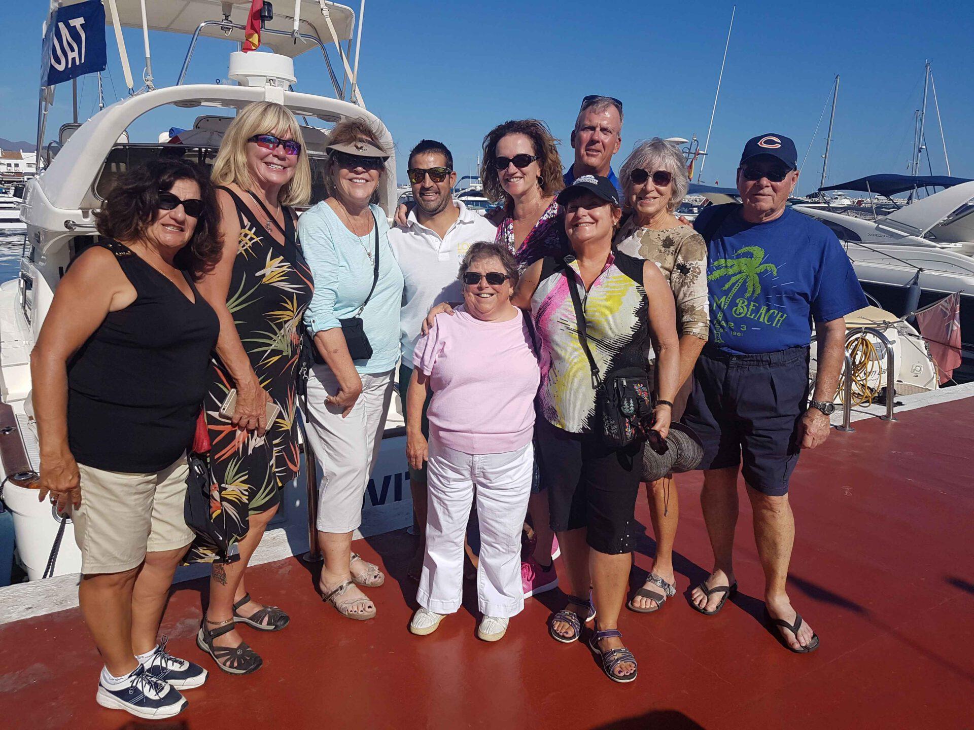 boat lovitcharter party family
