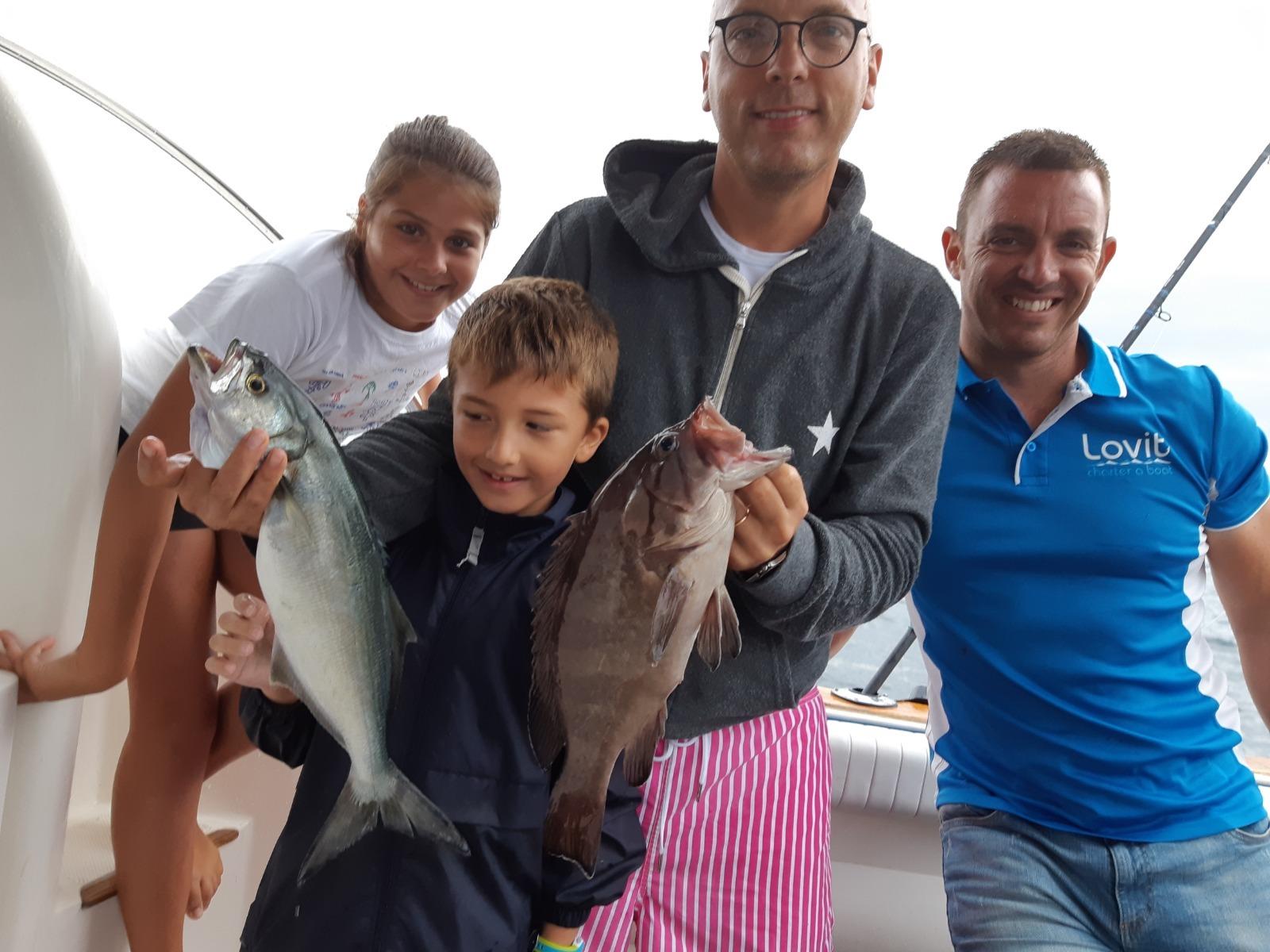boat lovitcharter family fishing