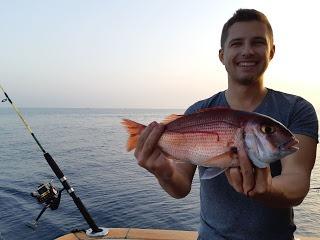 Pesca de fondo en Marbella