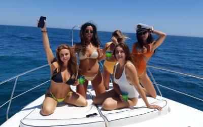 Hen party in Marbella