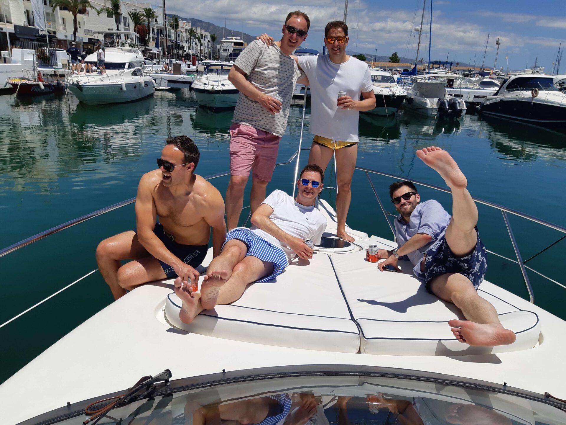 LOVIT CHARTER. Fishing and relax Marbella (255)